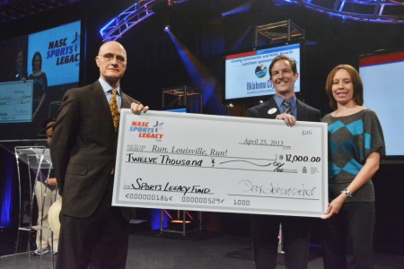 Run Louisville Run awarded 2013 NASC Sports Legacy Fund grant